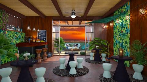 Tropical Bar - Global - Garden - by Mandine