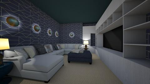 Media Room - Modern - by mide93