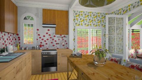 Flower Kitchen - Eclectic - Kitchen - by giulygi