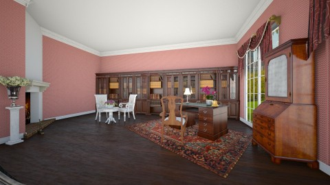 206 Queen Summer Residence - Living room - by Agata_ody