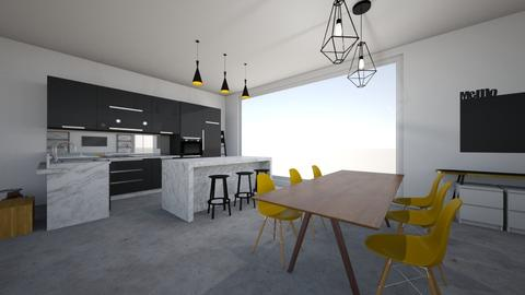 Kitchen and Dining - Modern - Kitchen - by Febe00