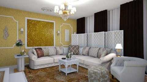Arabic Livingroom - Glamour - by AndreeaMadalina
