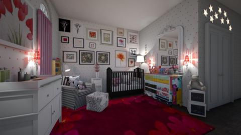 eclectic baby - Kids room - by hillygabe