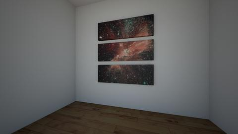 Space - Kids room - by RoomStylerForAnyone