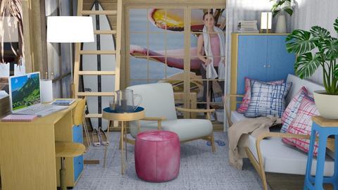 Sandy's surf shack - by Var
