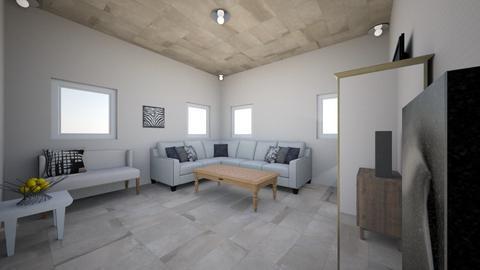 Living Room 1 - Modern - Living room - by Braydon1