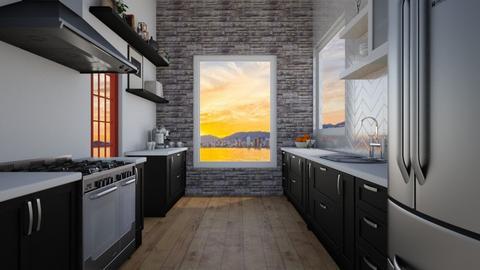 Mid Century - Kitchen - by Katie Whitley