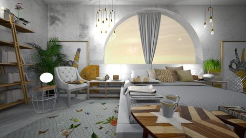 puesta de sol - Bedroom - by ana111