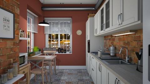 Tiny kitchen - Kitchen - by Lizzy0715