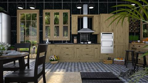 Design 429 IP Artisan Kitchen - Kitchen - by Daisy320