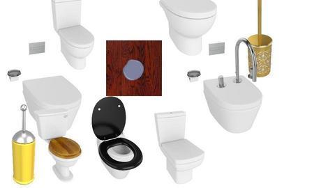 toilets - by ToastAndJam