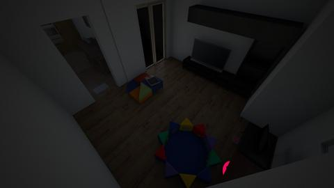 level_1 - Modern - Living room - by SwirlyHeadM8
