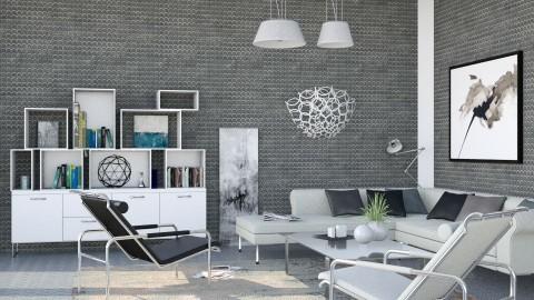 M_Metal - Modern - Living room - by milyca8