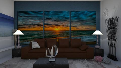 Sunset painting - Living room - by Wildflowers