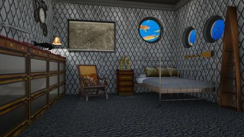 Capitan Nemo - Retro - Bedroom - by deleted_1524667005_Elena68