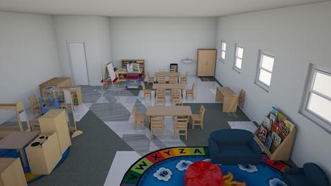 2nd grade floor plan room - Kids room - by XGQEPAUTYTQWFFMLLGXUNDLTEWTLABP