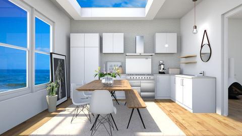 Summer House Kitchen - Kitchen - by anamarijag00