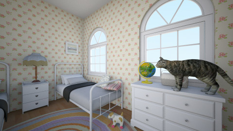 60s Vacation Home - Vintage - Kids room - by JoyWillCome
