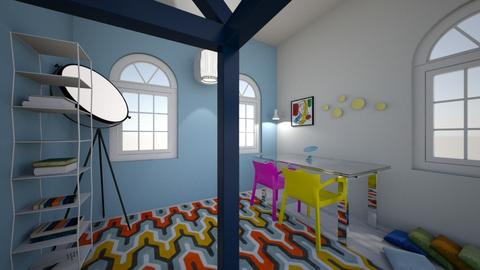 RCS modern  - Bedroom - by ckwoodcook23