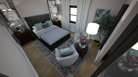 master bedroom - Bedroom - by only1anya