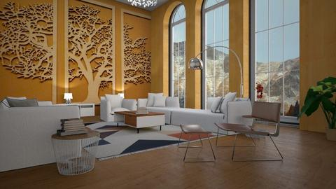 Big Tree - Living room - by ZuzanaDesign