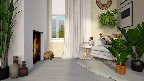 MADSEN template - Living room - by lilyamc