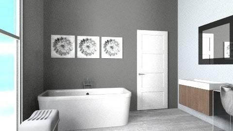 Salle de bain 3 - Bathroom - by Yellow Moon Design