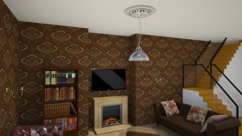 roomclass - Classic - Living room - by Jen Guerra