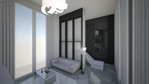 Cloud of White - Modern - Living room - by XiraFizade