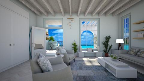 Surf Culture Living - Living room - by ElleP