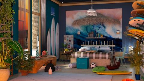 Surf Bedroom_I - by Laura_Barsa