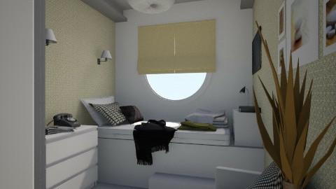 Nakagi Capsule B and B - Modern - Bedroom - by Tuija