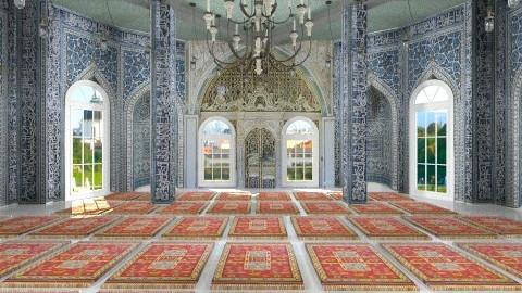 Mosque - by XValidze
