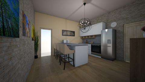 panel - Modern - Kitchen - by Ritus13