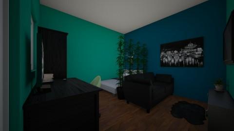 Winters room - by lianya4444