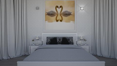 swan bedroom - by kiregl