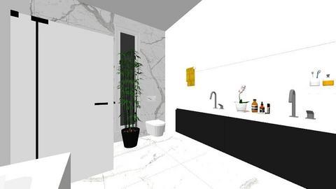 lazienka inna - Bathroom - by noryem