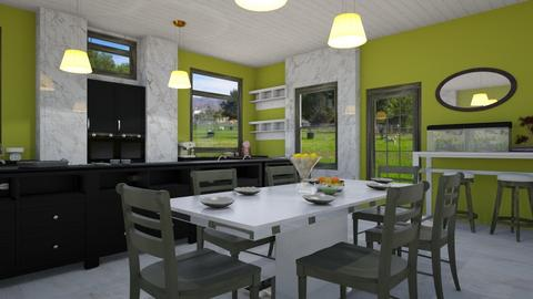 Colour me Lime - Modern - Kitchen - by BohoCHicc