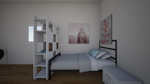 My bedroom - Bedroom - by JustusRose