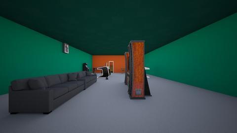 Corrupt - Retro - Living room - by 8185301