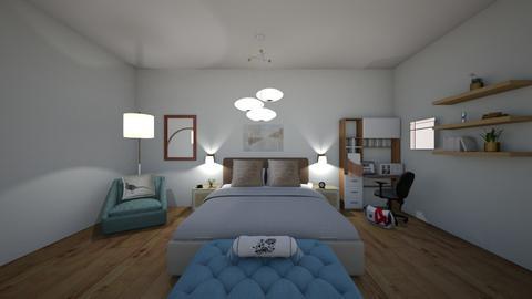 Bedroom - Modern - Bedroom - by emma18bo