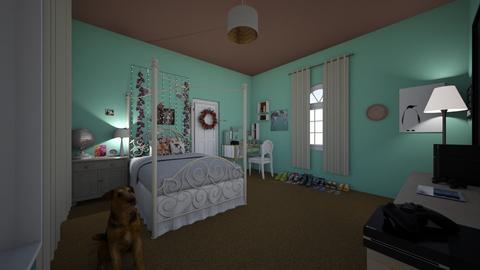 pretty - Bedroom - by lildivajo