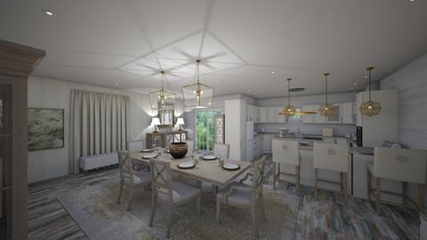 Contest OAK - Vintage - Dining room - by danes