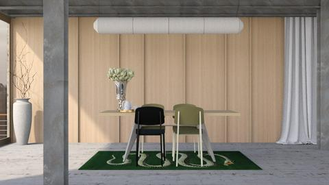 EAT - Minimal - Dining room - by HenkRetro1960