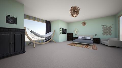 teenage bedroom - Bedroom - by brooklynlundy