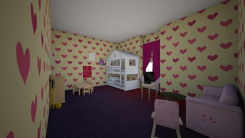 Pretty Pink - Kids room - by Mcgabby101