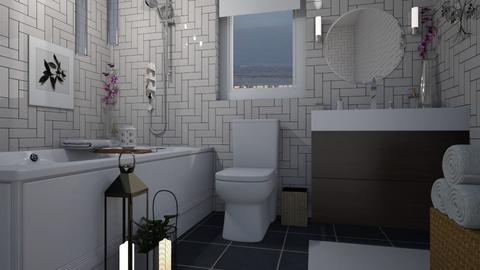 TileBathRoom - Bathroom - by Nard8A