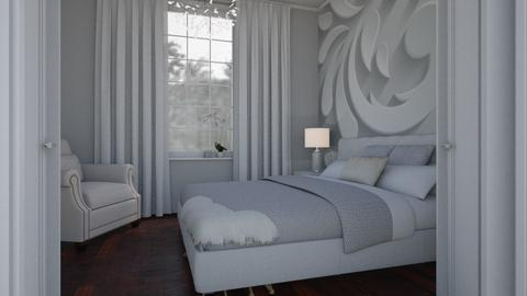 White mural - Bedroom - by Tuitsi