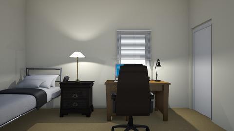 Micro Apartment - Bedroom - by WestVirginiaRebel