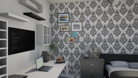 My room - Minimal - Bedroom - by Gaston Zol
